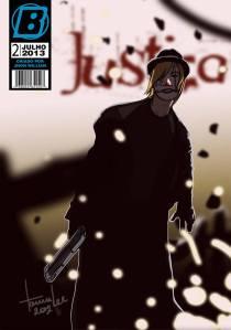 Clique na imagem para ler - Justiça #2, de Milton Rafael e Tamie Gadelha